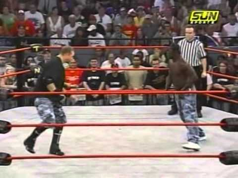 TNA - Road Dogg and R Truth Gettin' Rowdy (8-19-2005)