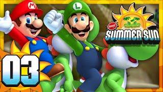 New Super Mario Bros. Summer Sun - Part 3 (4 Player)