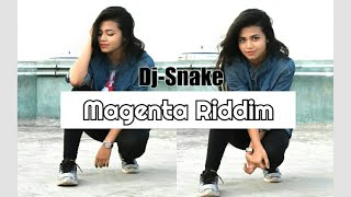 DJ Snake - Magenta Riddim || Dance Choreography || Step Up With Sharmili