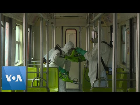 Mexico City Subway Starts Cleaning Campaign in Effort to Prevent Coronavirus