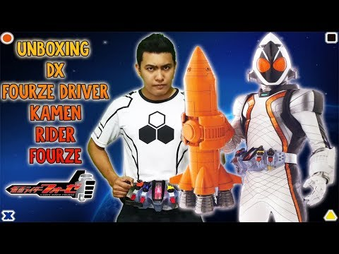 Kamen Rider Fourze : DX Fourze Driver Unboxing and Review