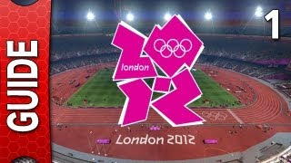 London 2012 Olympics The Video Game Walkthrough - Part 1 [Gameplay / Playthrough] [Story Mode]