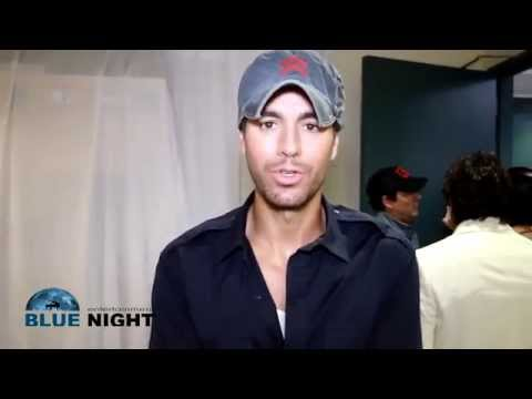 Enrique Iglesias: Backstage at the Billboard Latin Music Awards 2014