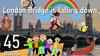 London Bridge is falling down | Top 20 Children