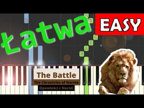 🎹 The Battle (z filmu Opowieści z Narnii) - Piano Tutorial (łatwa wersja) 🎹