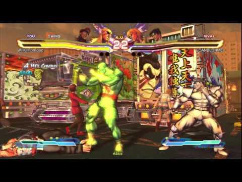 STREET FIGHTER X TEKKEN HD   ONLINE RANKED MATCH 224 224-0 UNDEFEATED