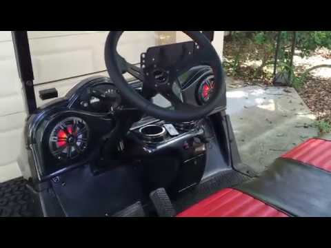 Ezgo Rxv Electric Golf Cart Fully Loaded Street