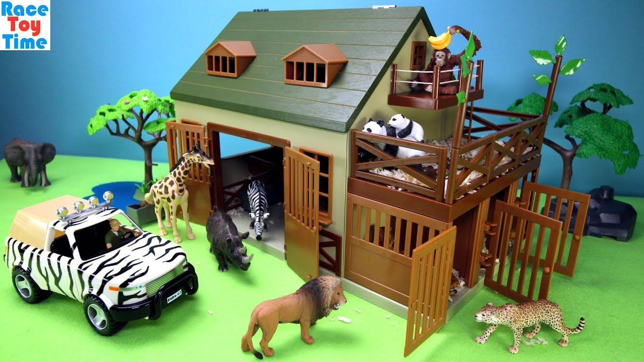 Best Animal Planet Toys For Kids And Toddlers : Safari wildlife animal care terra playset fun animals