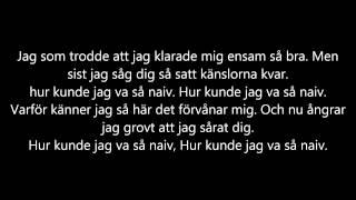 """Dani M """"Naiv"""" Med Jacco [Lyrics]"""