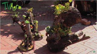 Gambar cover Decoración de Jardines con macetas naturales (Troncos) - TvAgro por Juan Gonzalo Angel