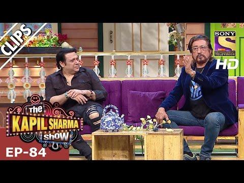 Govinda and Shakti Kapoor with Kapil Sharma  - The Kapil Sharma Show – 25th Feb 2017