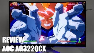 Review AOC AG322QCX Nuevo Monitor Gaming Curvo 2018