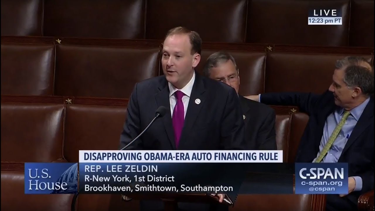 Perfect Zeldin Speaks On House Floor In Support Of His Measure To Preserve  Affordable Auto Lending