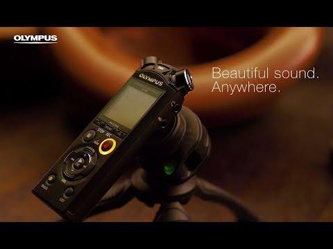 Olympus LS-P4 Audio Recorder (Black) + Free WJ-2 Windshield