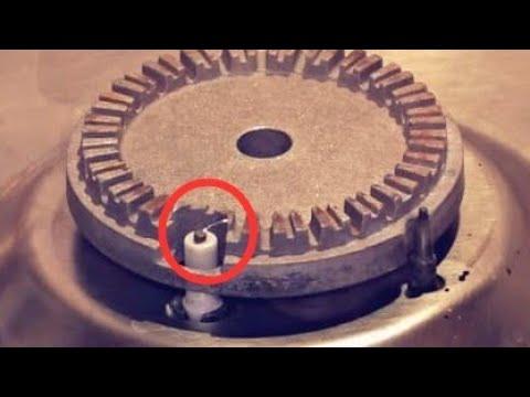 Постоянное щёлкает #пьезоподжиг💥 в #газовойплите, как исправить ⚡☝️