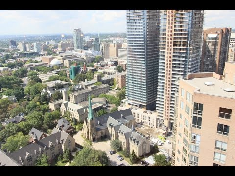 1001 Bay St. #PH02 (3502) $899000 over 1400 Square feet 2 levels downtown Toronto