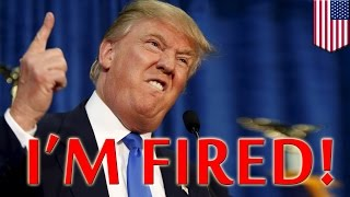 Donald Trump fired: NBC sacks Trump over racist comments, Univision Miss USA contract - TomoNews
