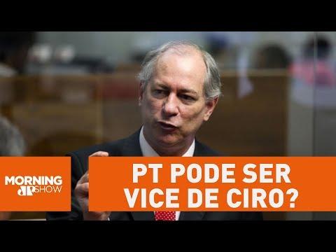 PT Sugere Que Poderia Ser Vice De Ciro Gomes