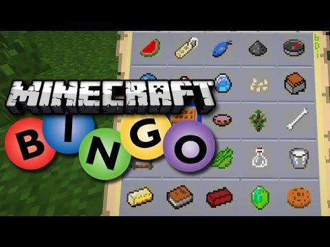 Image result for minecraft bingo