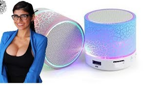 Amazing bluetooth speaker in 2018 Review || Best portable || Sim & phone talking service added..