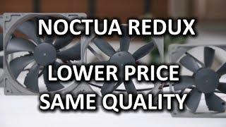 """Noctua Redux """"Cost-Optimized"""" Silent Fans"""