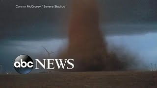 Tornadoes touch down in several states