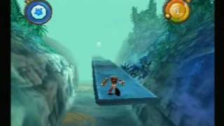 Rayman Rush Playstation Gameplay (www.chilloutgames.co.uk)