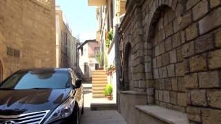 Азербайджан. Мнение таксиста о россиянах. Нас там любят. Едем в центр Баку