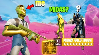 I Pretended to be MIDAS in Season 5 (Fortnite)