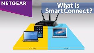NETGEAR Nighthawk Router Dual Band WiFi - Smart Connect Technology