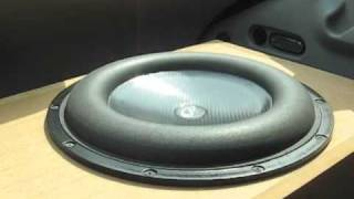 Elemental Designs Woofer Excursion Test