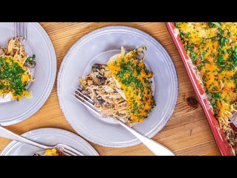 How To Make Chicken Spaghetti Casserole By Rachael