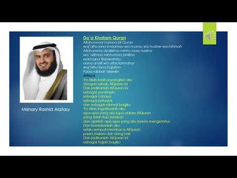 Doa Khatam Quran Full Hd