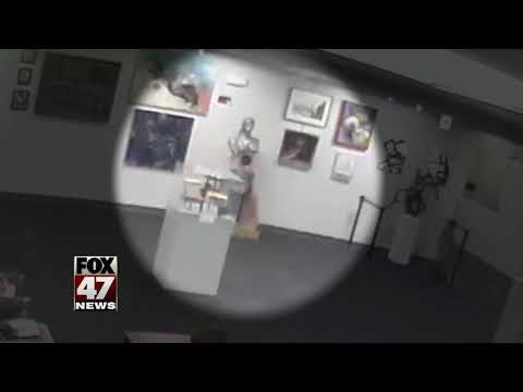 Parents may owe $132K after kid knocks over art