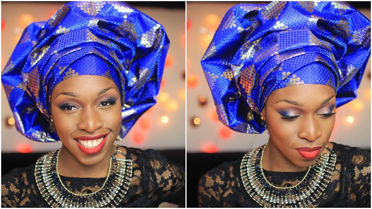 131a66fab009 Attaché de foulard   Le gele yoruba   Princesse Pagaille - YouTube