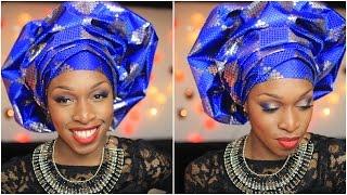 Attaché de foulard | Le gele yoruba | Princesse Pagaille