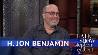 H. Jon Benjamin Had A Threesome, Technically
