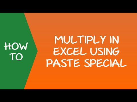 How to Multiply in Excel Using Paste Special