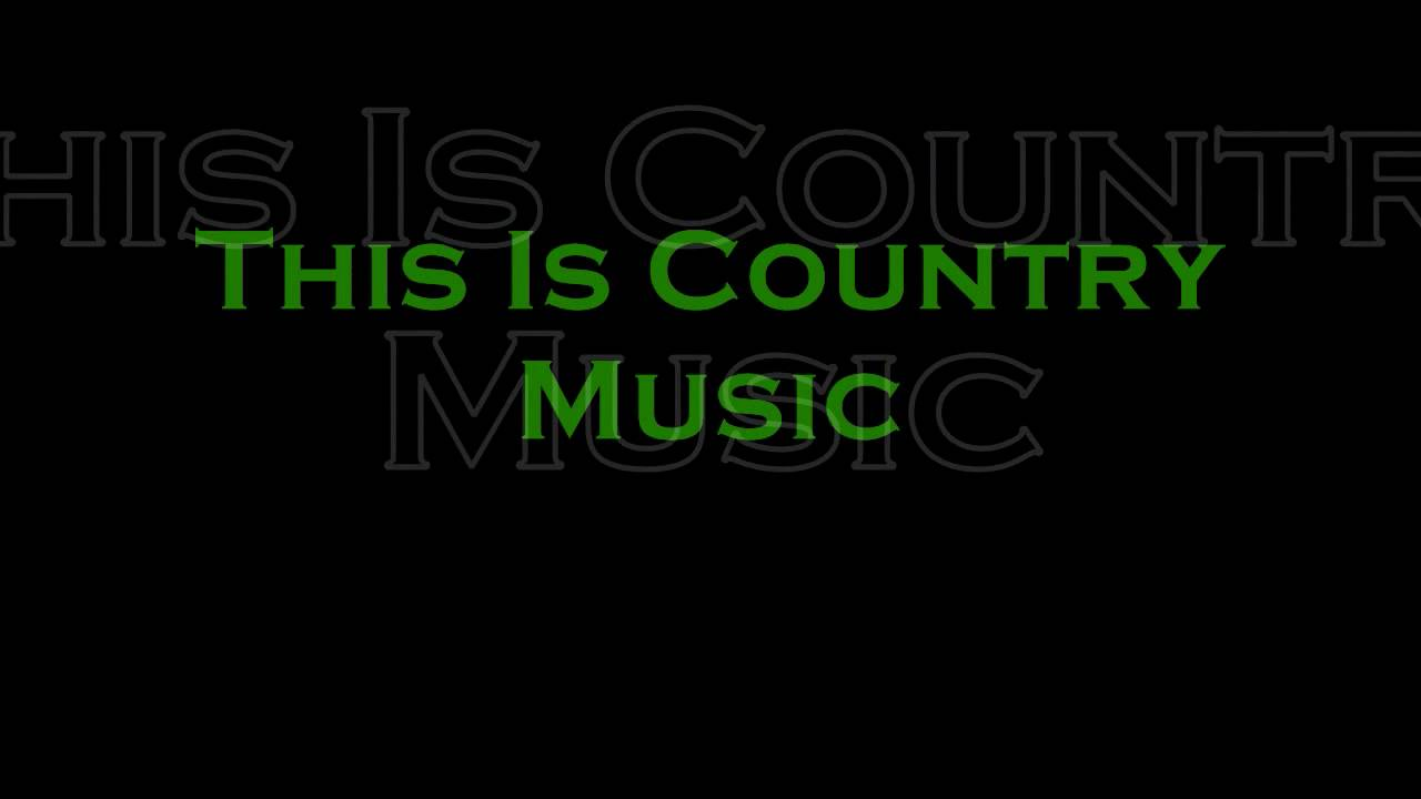 Country music lyrics write a letter to me
