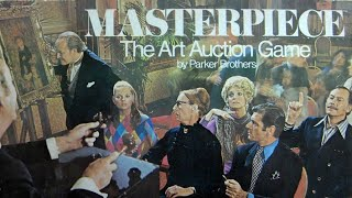 Ep. 89: Masterpiece Board Game Review (Parker Brothers 1970)
