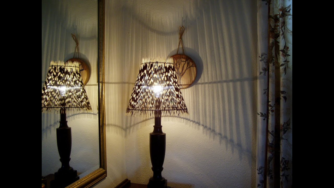& Large Round lampshade - How its made DIY - YouTube
