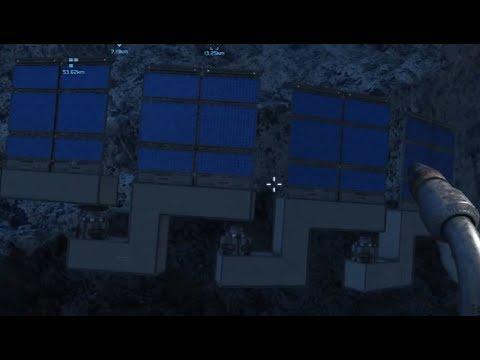 Space Engineers - Panneaux solaires motorisés