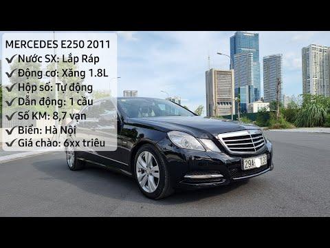 Thu vốn Mercedes E250 2011 siêu đẹp, biển VIP, 1 chủ từ mới với giá chỉ 59x củ