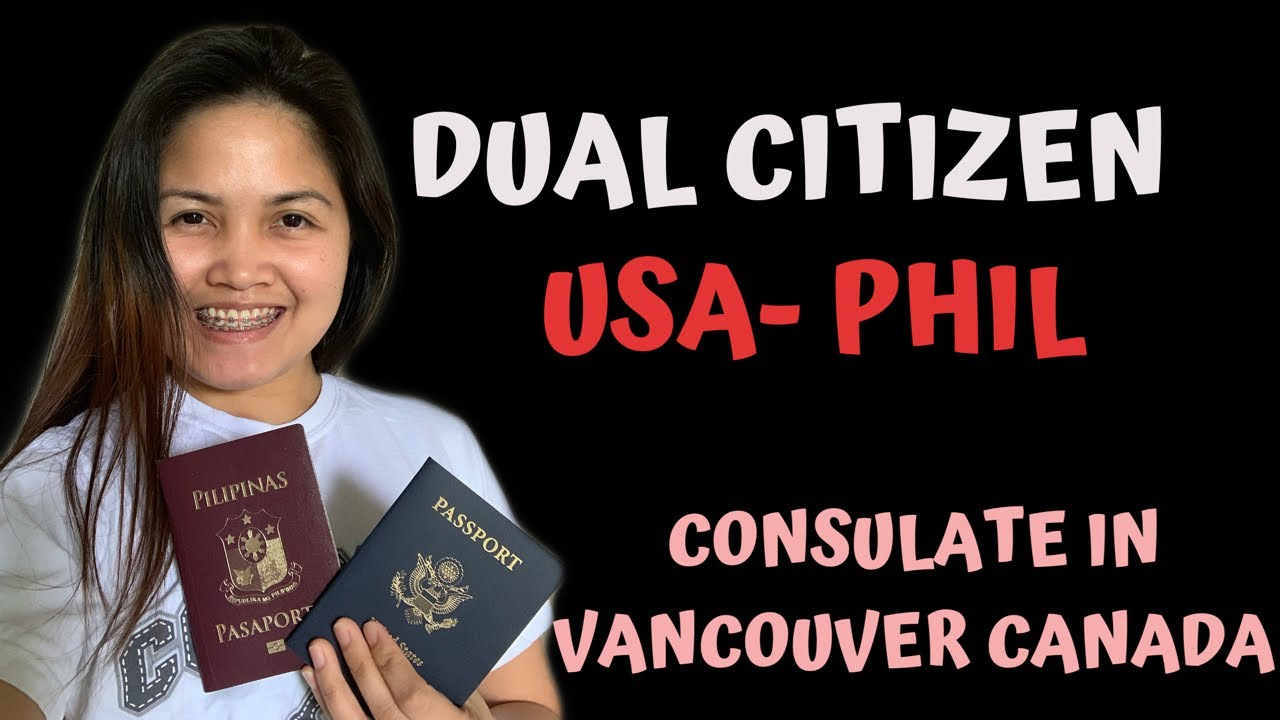DUAL CITIZENSHIP l USA PHILIPPINES - YouTube