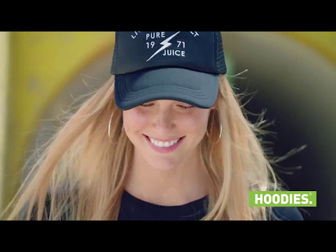 Bar Refaeli for Hoodies Summer 2017
