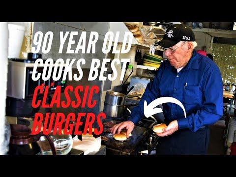 90 Year Old War Veteran Cooks BEST CLASSIC BURGERS | Bill's Burgers from YouTube · Duration:  4 minutes 10 seconds