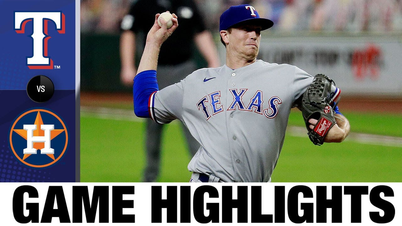 Kyle Gibson pitches complete game in Rangers' 1-0 win | Rangers-Astros Game Highlights 9/16/20