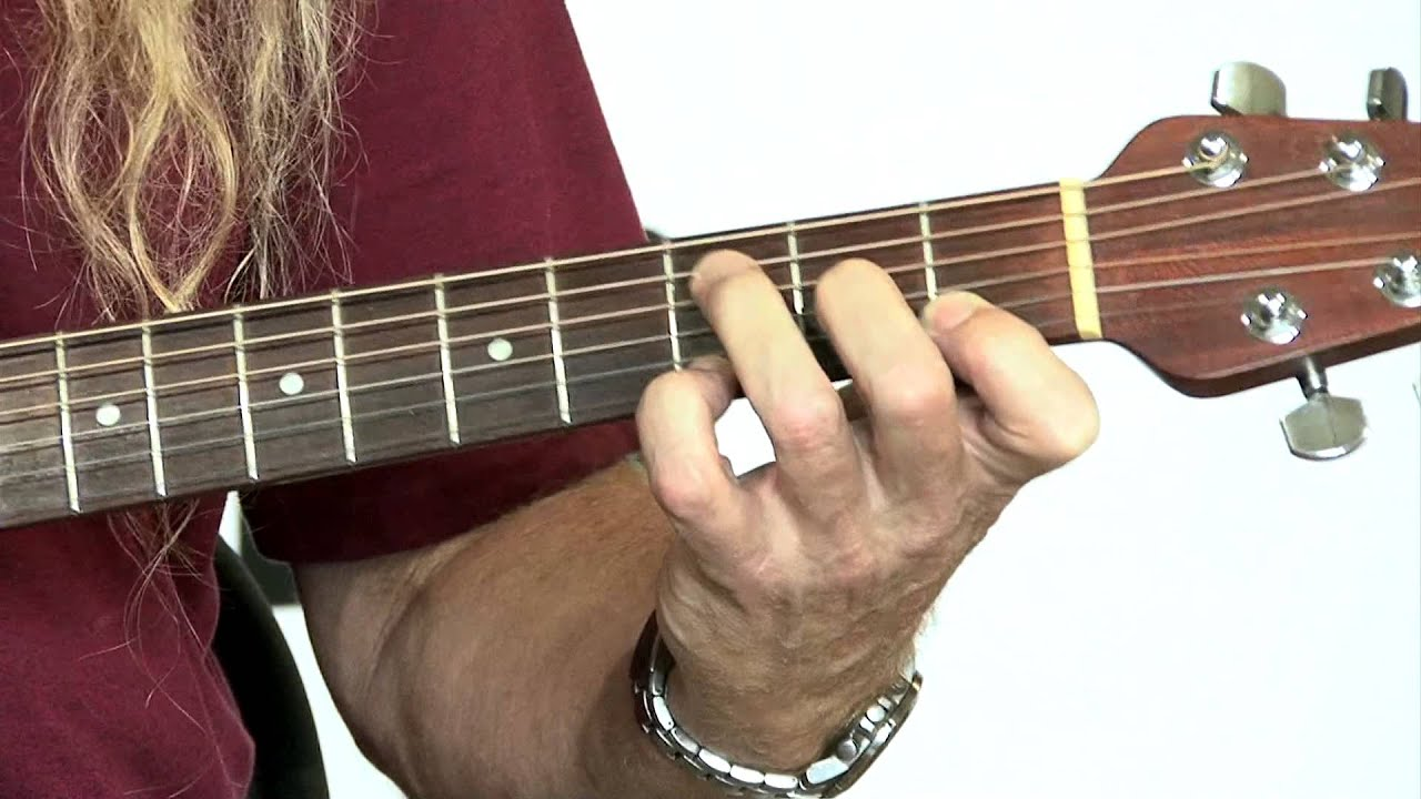 Learn How To Play F 2 Chord Guitar Lesson - YouTube