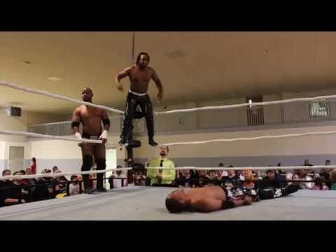 CCW Tag Team Titles Match: (C) The Pinnacle w/Jeff O'Dell Vs.  The L. A.  Hustlers