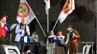 Festival del Folklore 2014 BERGAMO - Esibizione Arlecchino Bergamasco Folk